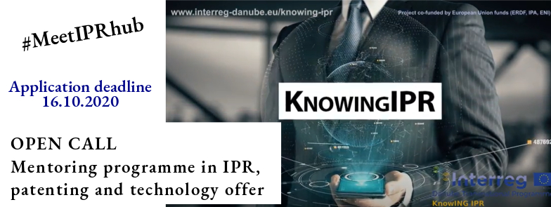 KnowING IPR PILOT- SUPPORT PROGRAMME!